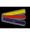 Pravítko pro leváky - 17 cm