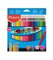 Trojhranné pastelky - 48 barev
